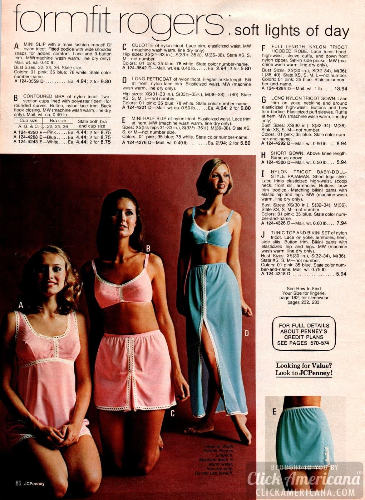 Vintage lingerie from the 70s (1)