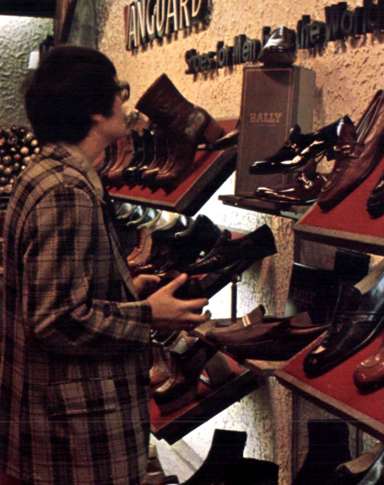 Vintage men's shoe store (1975)
