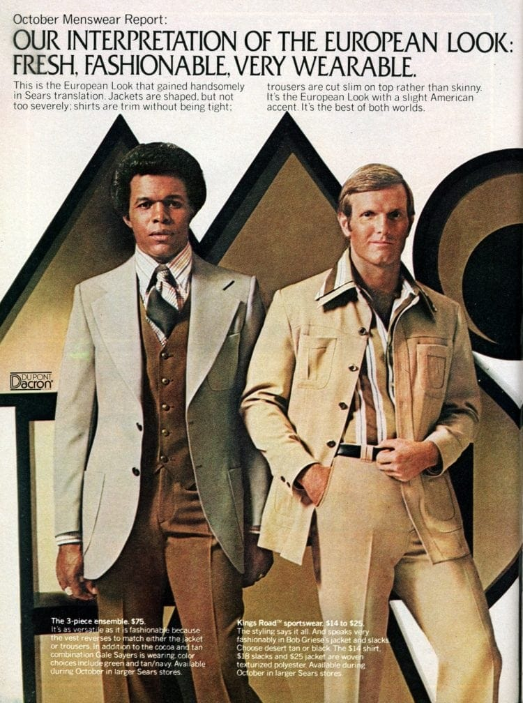 Vintage menswear from 1976 - See what guys were wearing to the office (1)