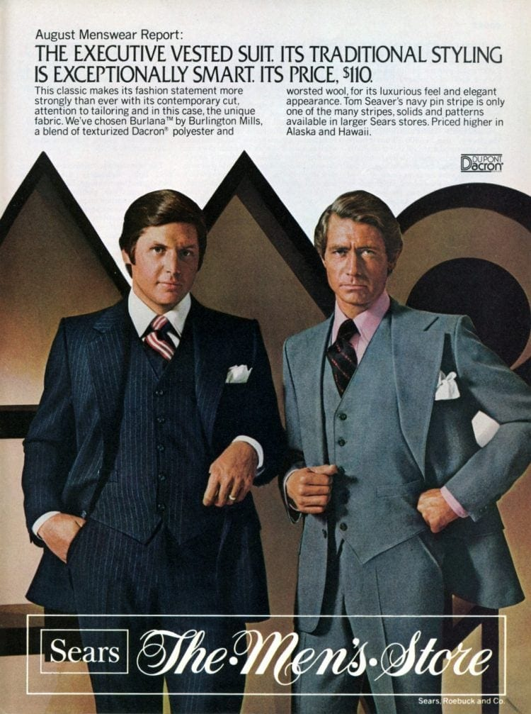 Vintage menswear from 1976 - See what guys were wearing to the office (3)
