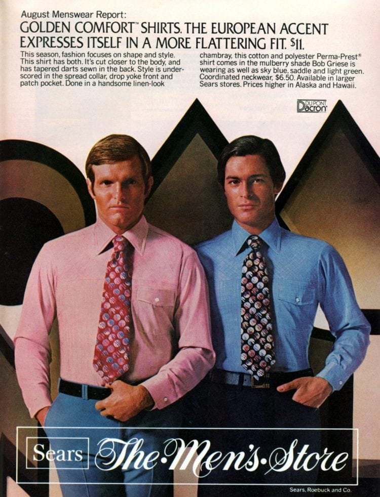 Vintage menswear from 1976 - See what guys were wearing to the office (4)