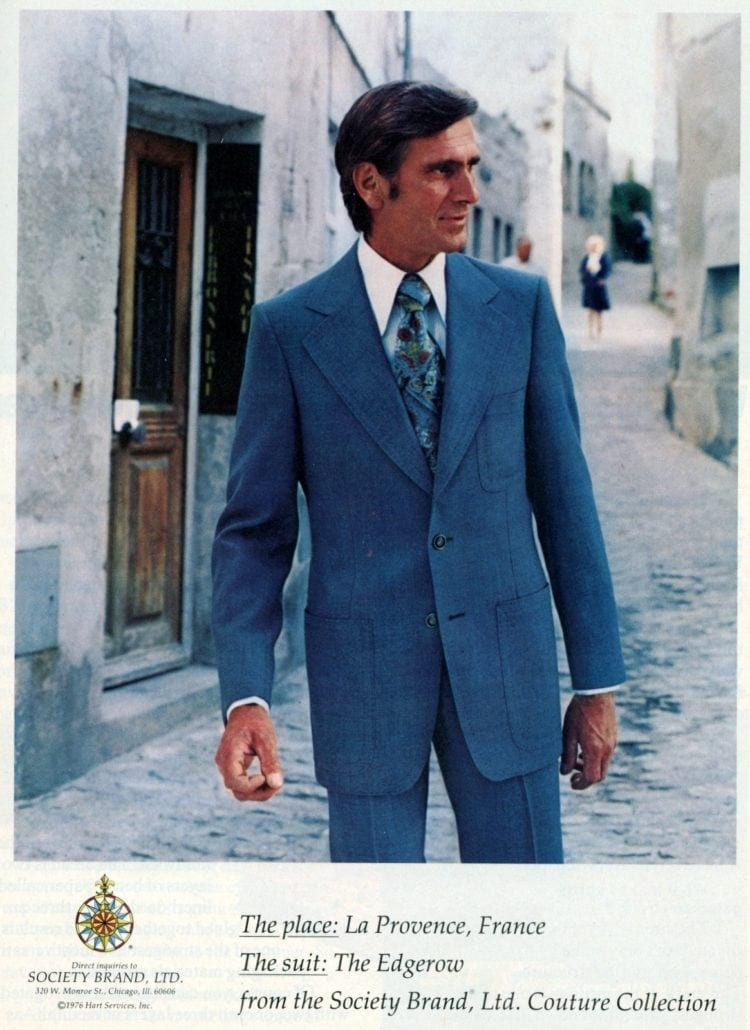 Vintage menswear from 1976 - See what guys were wearing to the office (5)