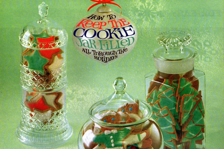 Vintage molasses cookie recipes from 1961