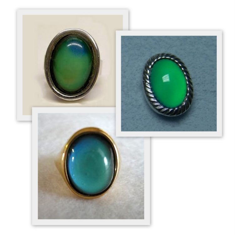 Vintage mood rings from the 1970s - Click Americana
