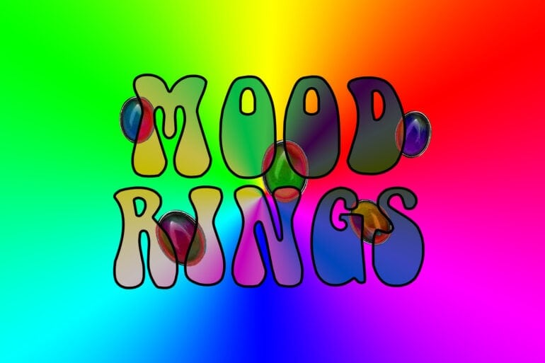 Vintage mood rings - what do the colors mean
