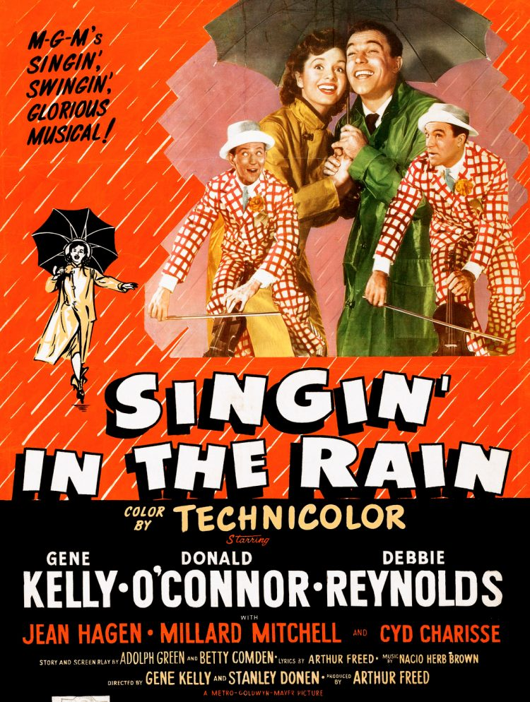 Vintage movie - Singin in the Rain poster