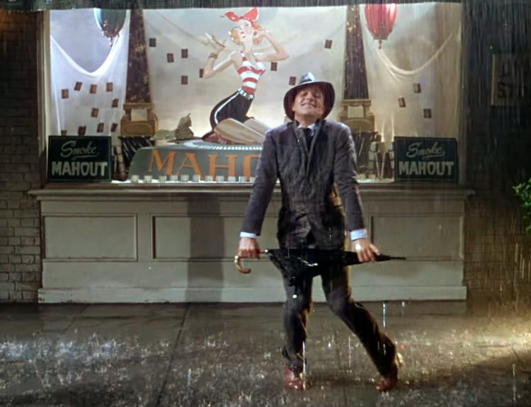 Vintage movie - Singin in the Rain scene (5)