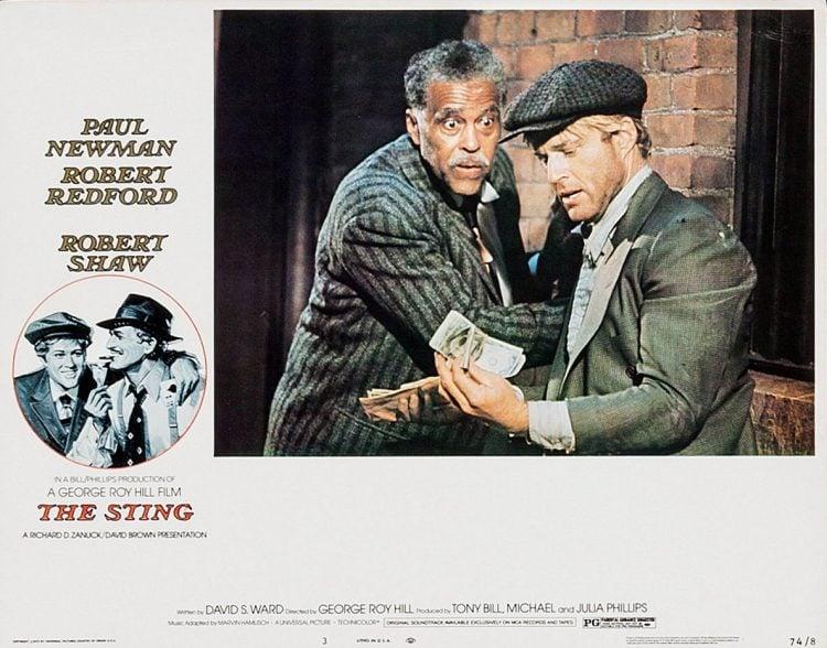 Vintage movie The Sting