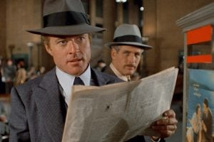 Vintage movie The Sting - Newman and Redford