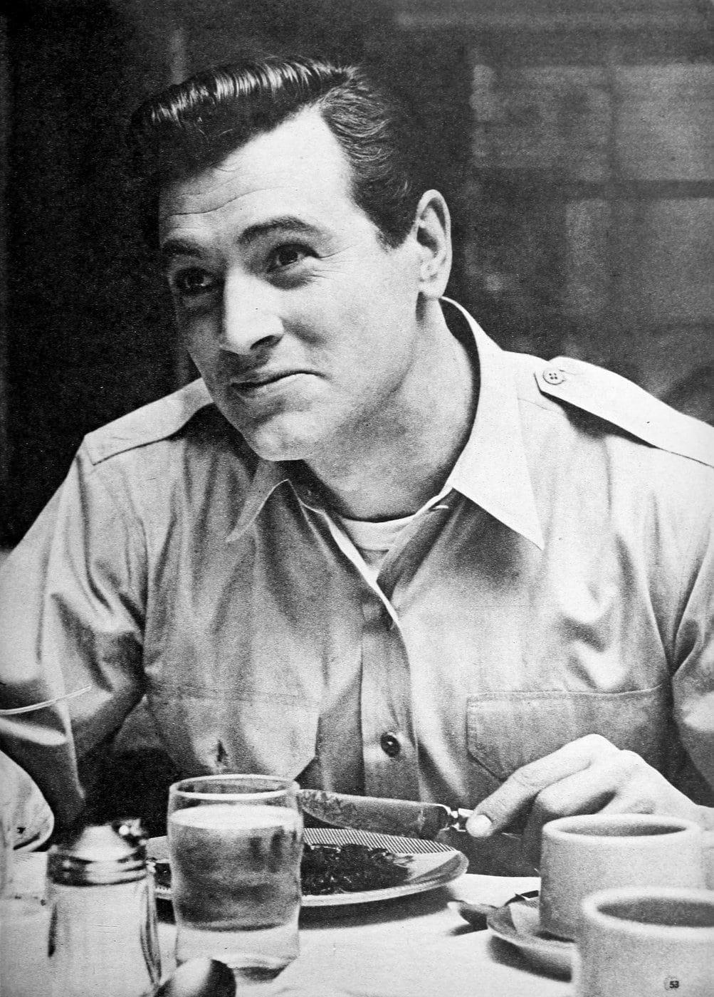 Vintage movie actor Rock Hudson - 50s (2)