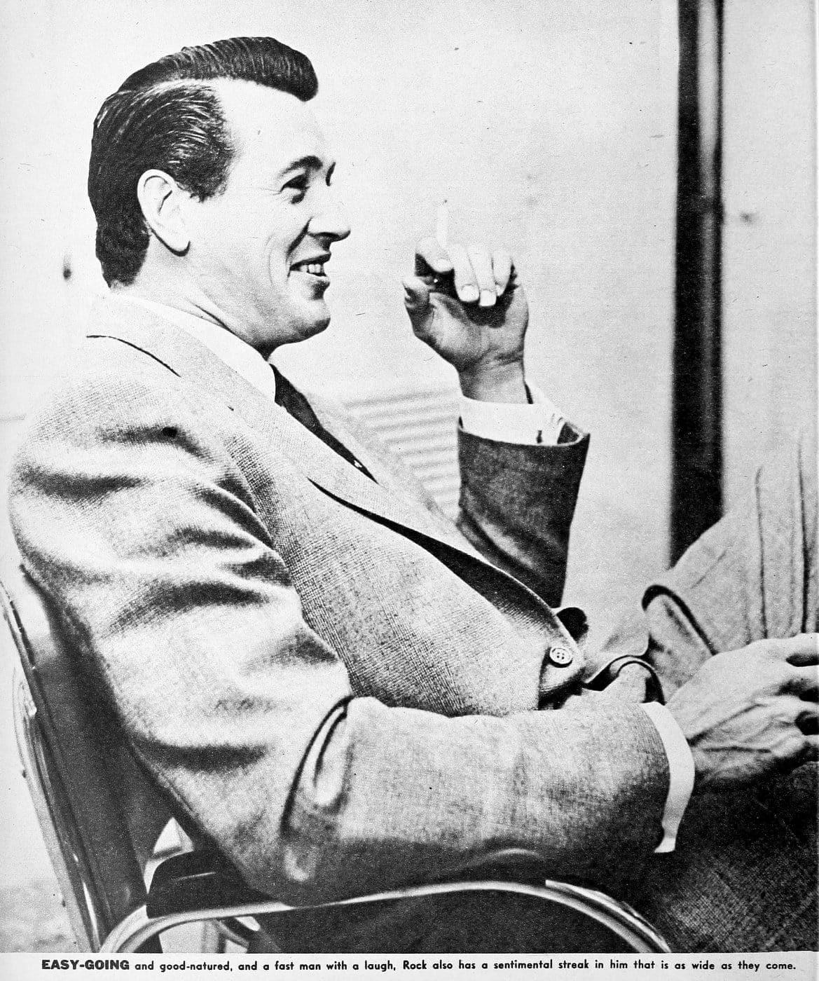 Vintage movie actor Rock Hudson - 50s (3)