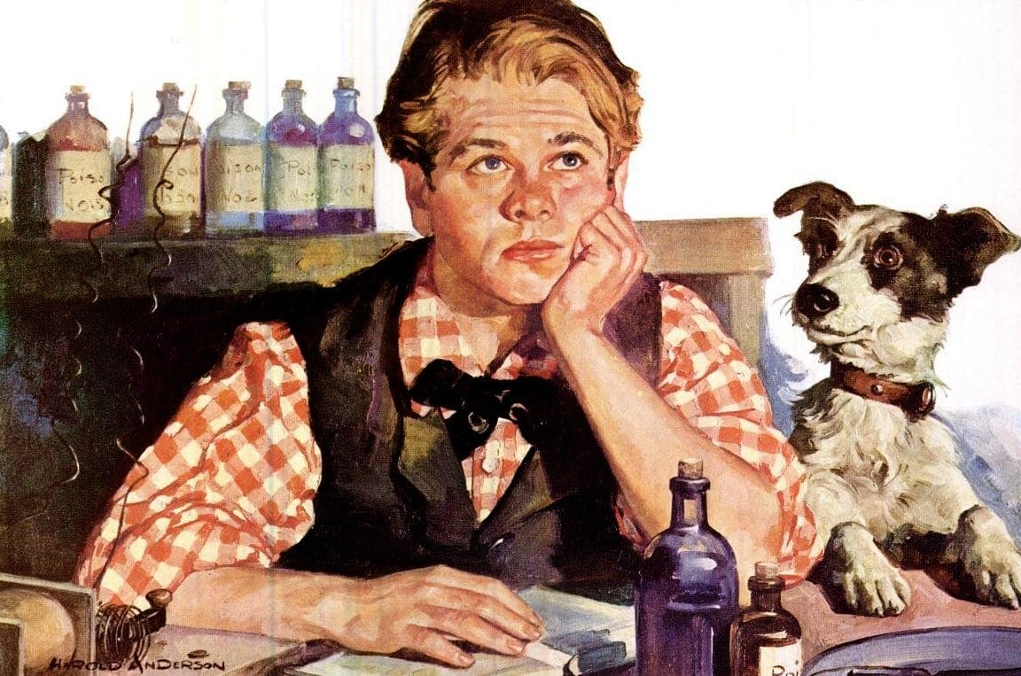 Vintage movies - Mickey Rooney as Young Tom Edison (1940)