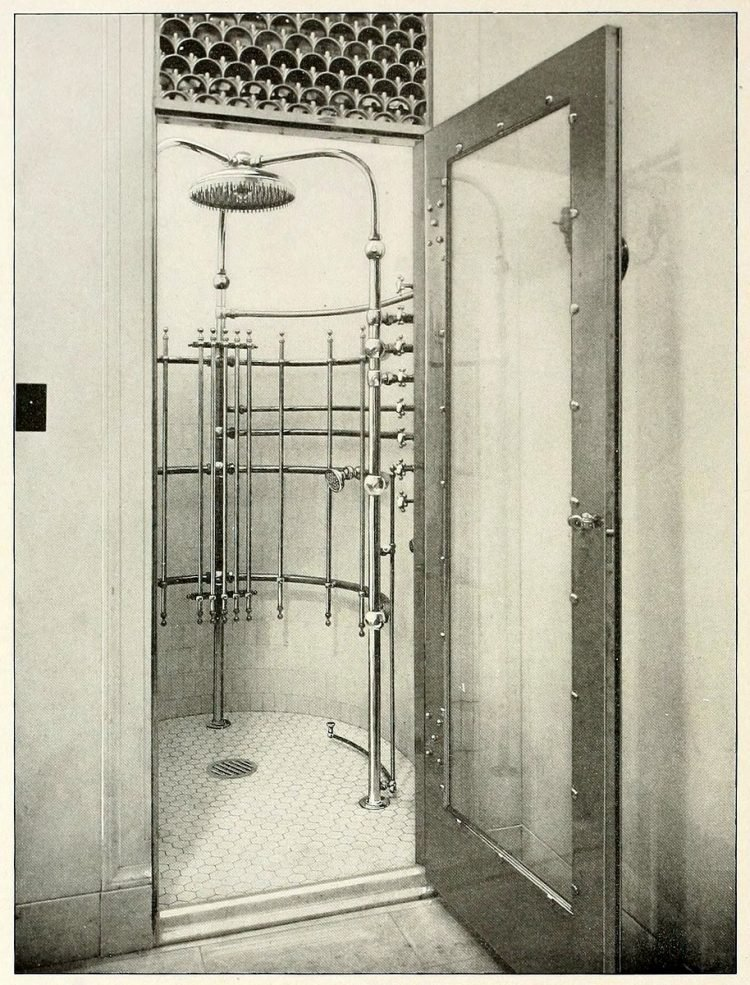 Vintage needle bath showers - Antique bathrooms from 1908 (3)