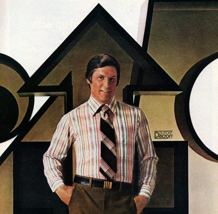 Vintage office fashion for men from fall 1976