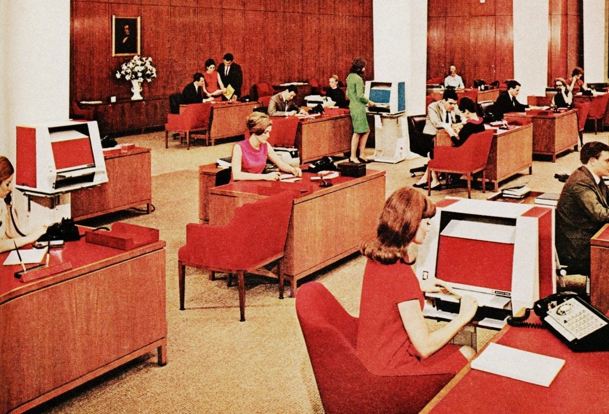 Vintage office from 1967