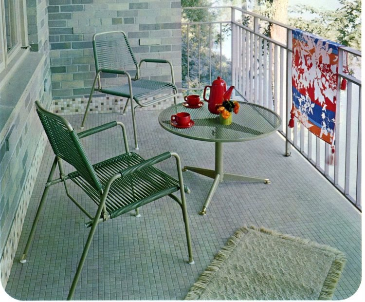 Vintage outdoor furniture from the 1970s (10)
