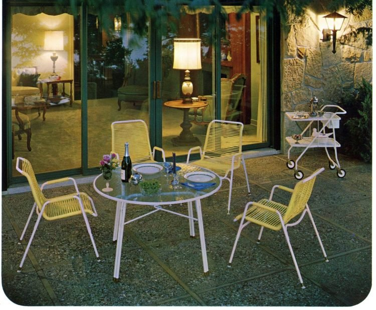 Vintage outdoor furniture from the 1970s (3)