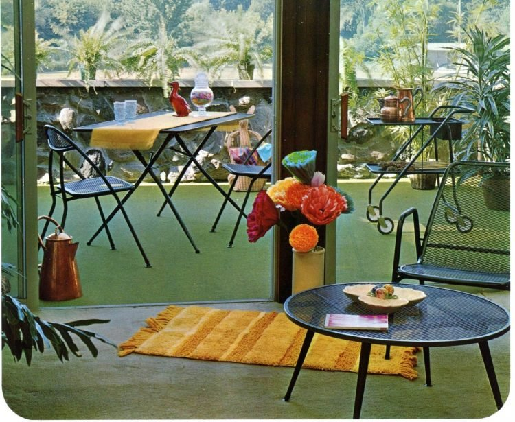 Vintage outdoor furniture from the 1970s (4)