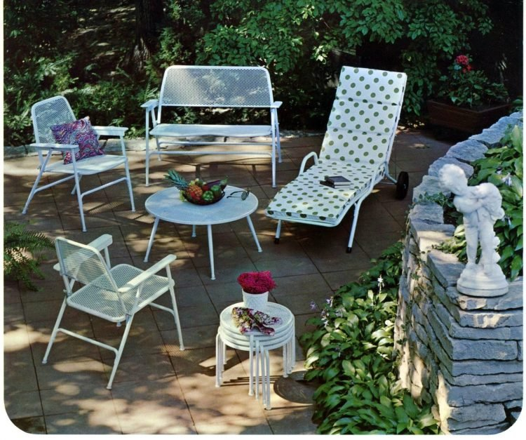 Vintage outdoor furniture from the 1970s (6)