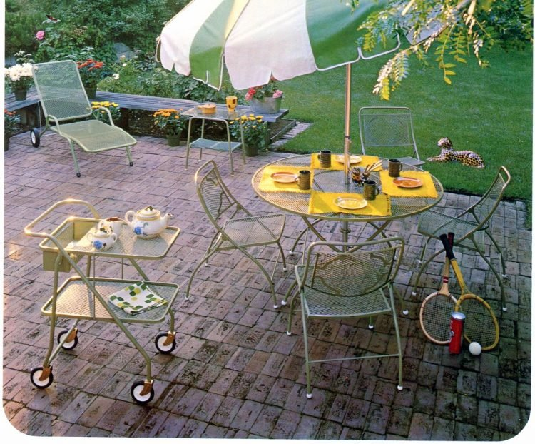 Vintage outdoor furniture from the 1970s (9)
