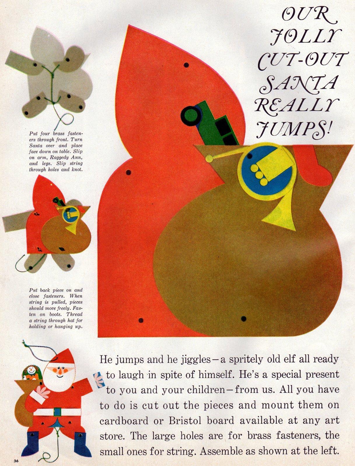 Vintage paper Christmas crafts