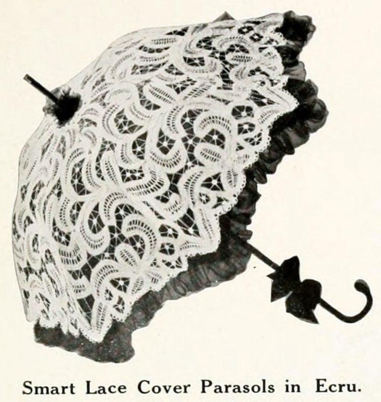 Vintage parasols - Antique catalog (1)