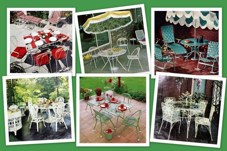 See 60 Vintage Patio Furniture Sets