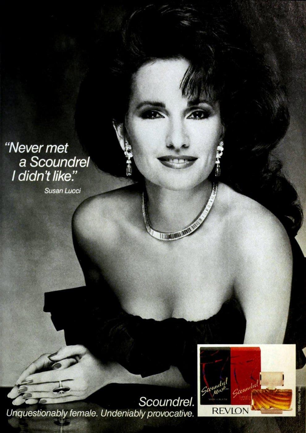 Vintage perfume - Susan Lucci for Scoundrel - 1987