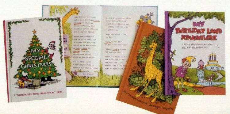 Vintage personalized ME Books