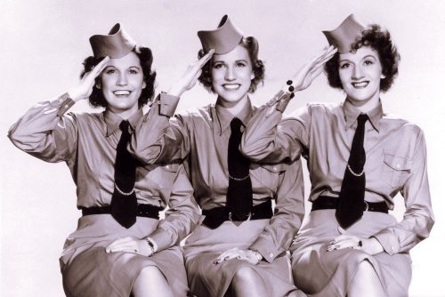 Vintage photo - The Andrews Sisters