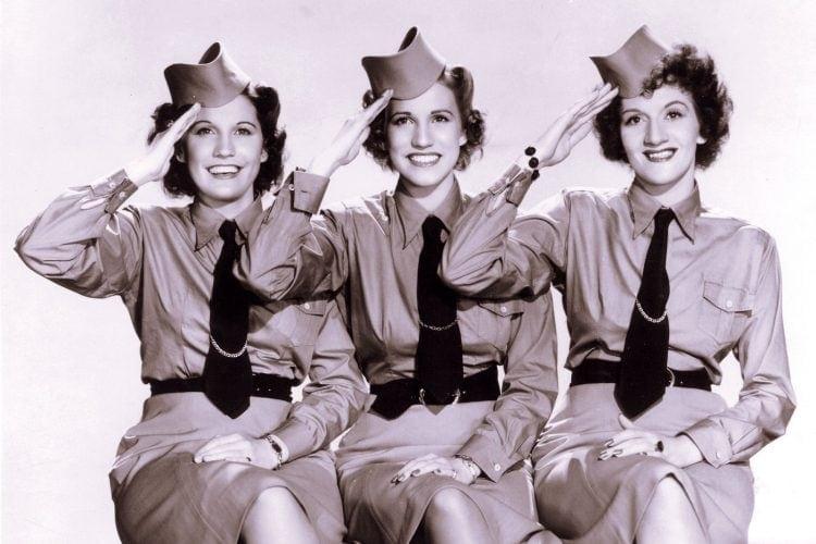 Vintage photo - The Andrews Sisters