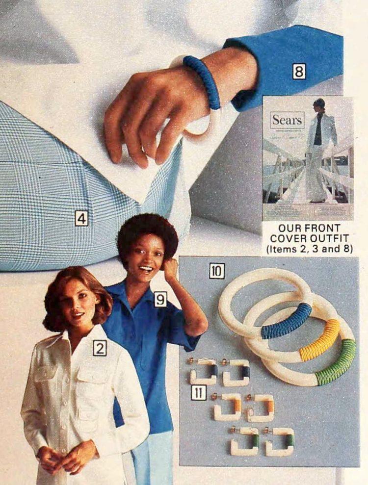 Vintage plastic bracelets (2)