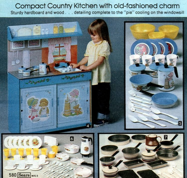 Vintage play kitchen toys from 1981 (2)