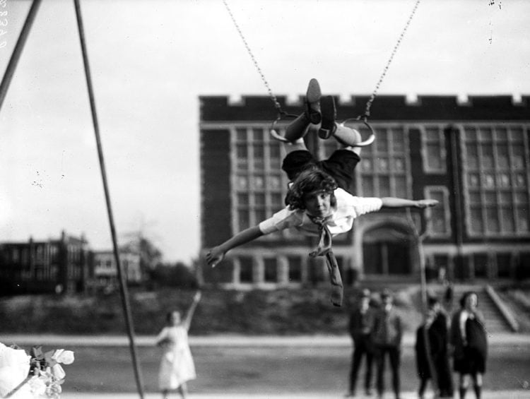 1924 - old playground