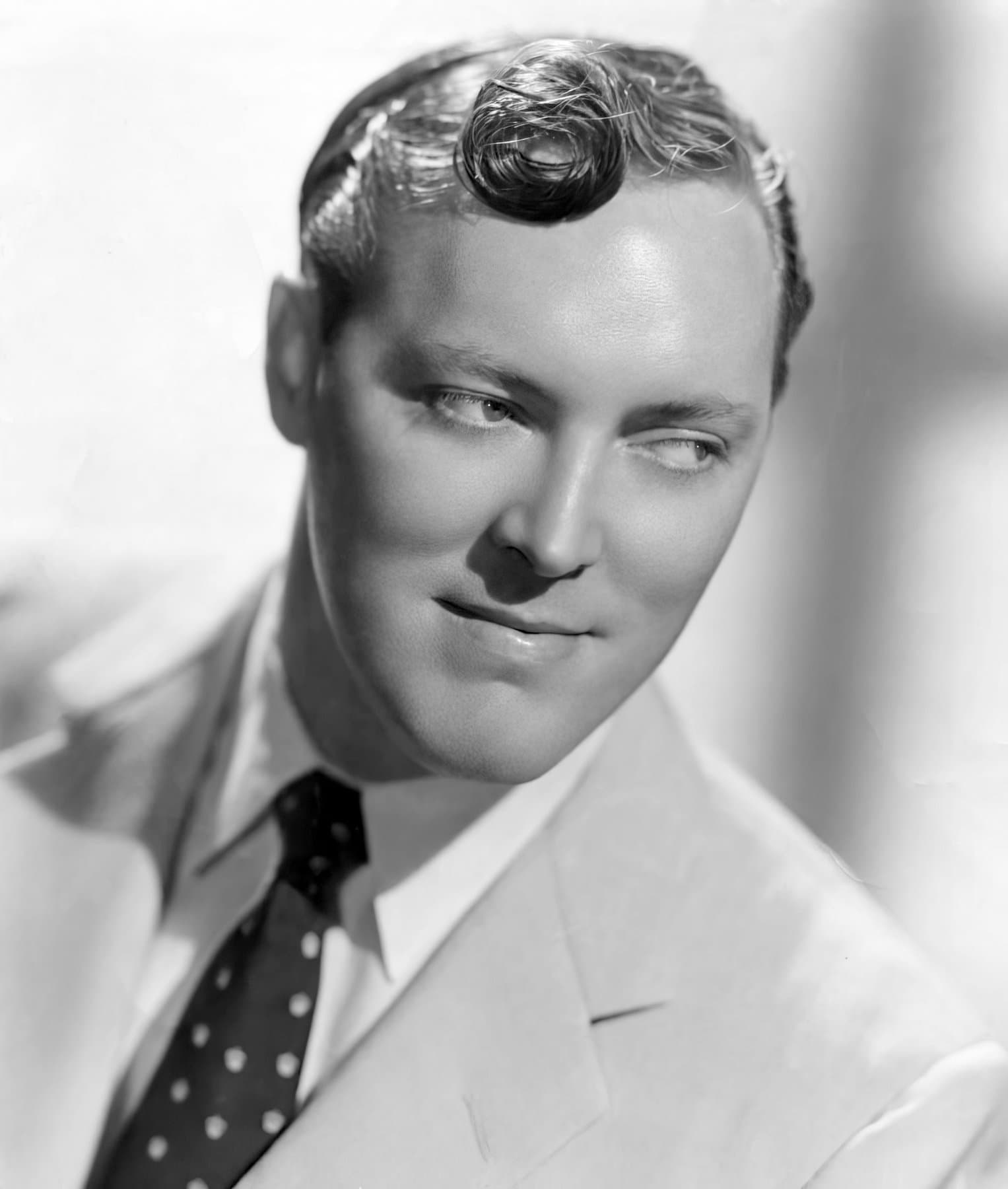 Vintage portrait of Bill Haley