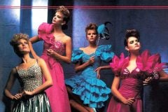 Vintage prom dresses from the eighties