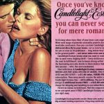 Vintage romance novel book club from 1985