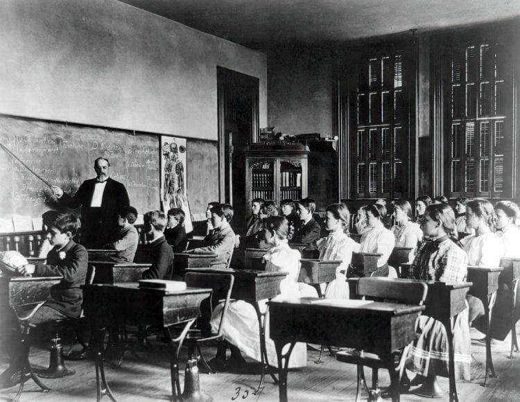 Vintage school classrooms in 1899 (10)