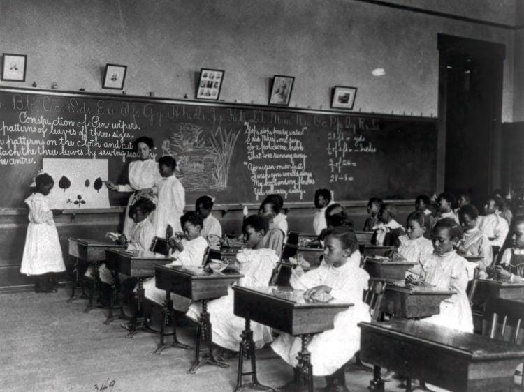 Vintage school classrooms in 1899 (12)