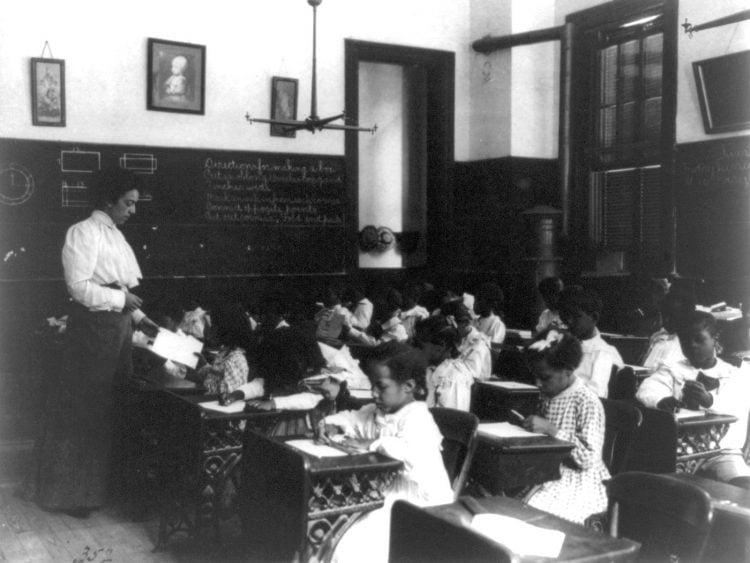 Vintage school classrooms in 1899 (13)