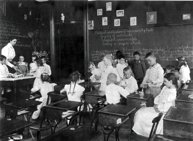 Vintage school classrooms in 1899 (14)