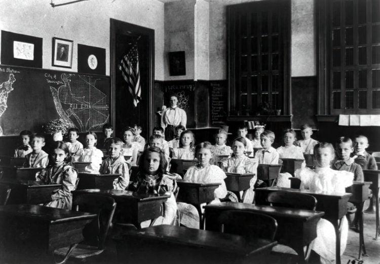 Vintage school classrooms in 1899 (15)
