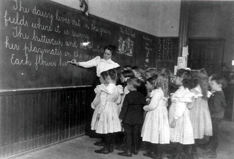 Vintage school classrooms in 1899 (16)