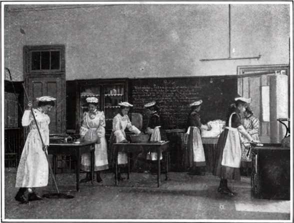 Vintage school classrooms in 1899 (5)