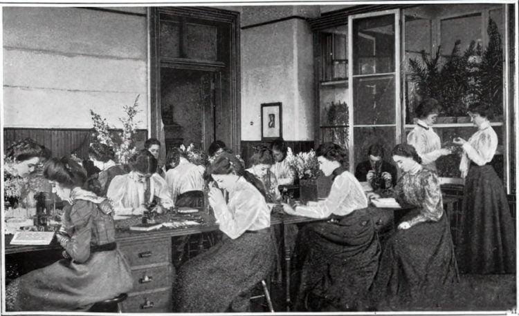 Vintage school classrooms in 1899 (6)