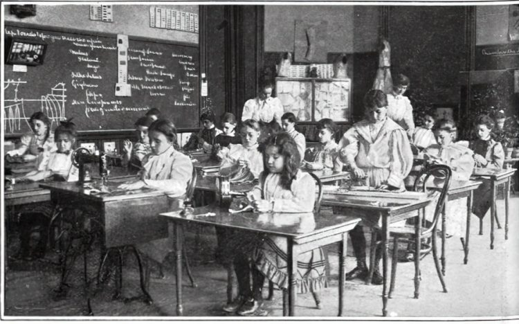 Vintage school classrooms in 1899 (7)