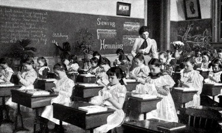 Vintage school classrooms in 1899 (9)