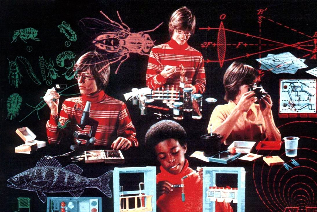 Vintage science kits from 1975 (6)