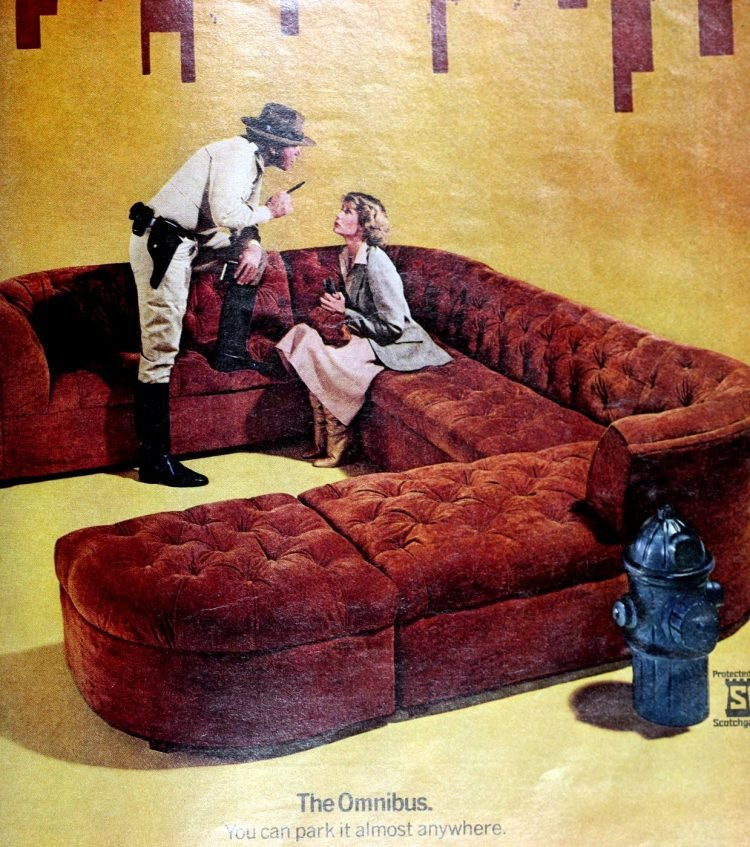 Vintage sectional sofas from the 1970s (1)