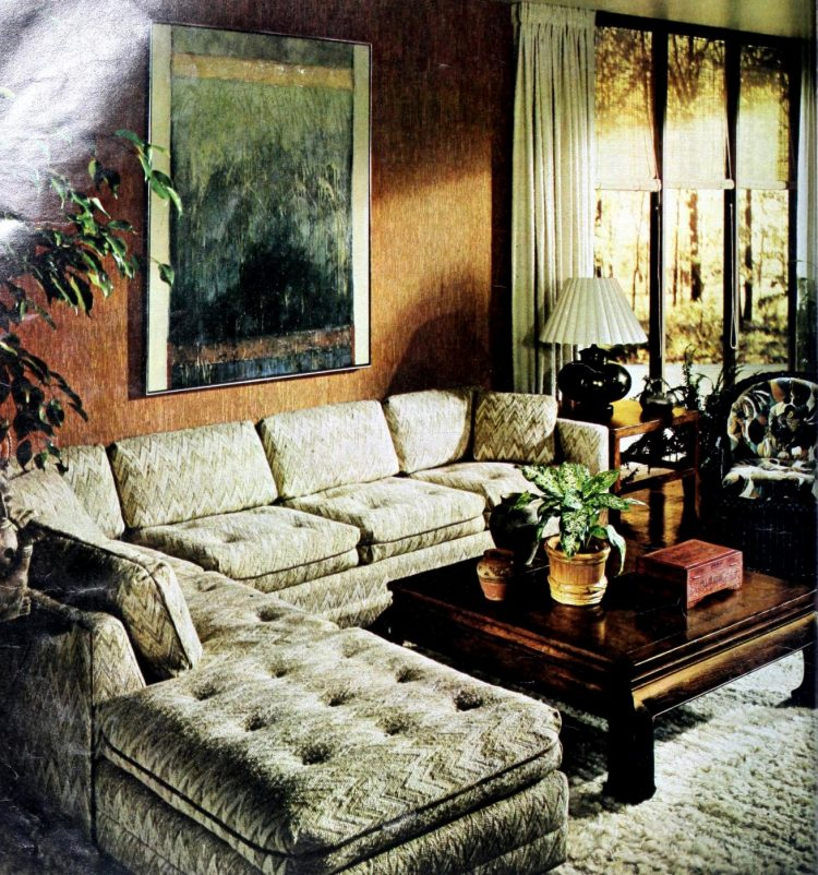 Vintage sectional sofas from the 1970s (2)